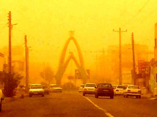 افزایش شدت وزش باد درشمال سیستان وبلوچستان