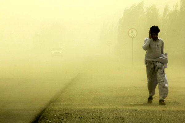 بازگشت گرد و غبار به آسمان سیستان و بلوچستان