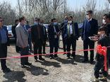 افتتاح مجتمع پرورش ماهی و سالنهای مجتمع تولید و پرورش مرغ در روستای محمود آباد عجب شیر