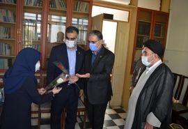 مسئولان ارشد سازمان جهاد کشاورزی فارس برای خبرنگار ایانا سنگتمام گذاشتند/ خبرنگاران، یاوران جهاد کشاورزی در تامین امنیت غذایی