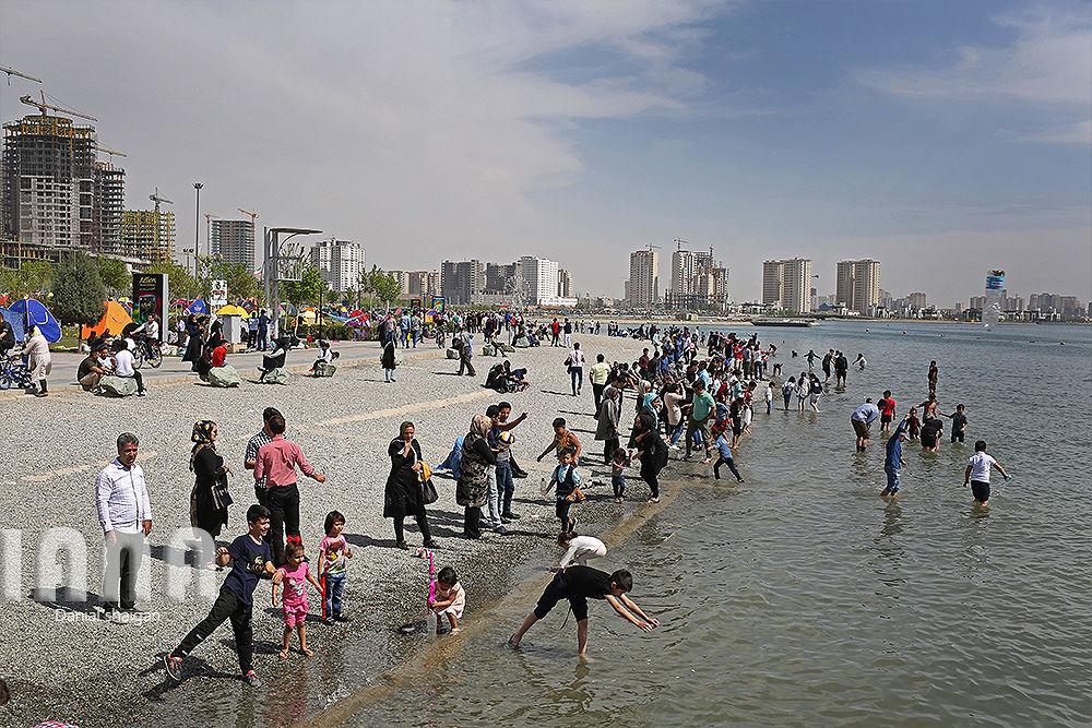 شهروندان تهرانی در مراسم روز طبیعت