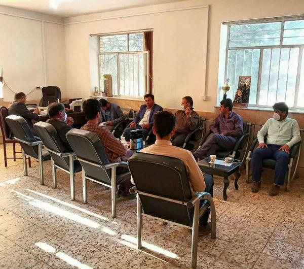 برگزاری شورای اداری مدیریت جهادکشاورزی شهرستان خانمیرزا