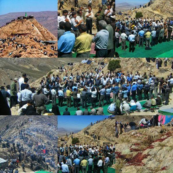 مراسم شکرگزاری اهالی روستای نامانلو
