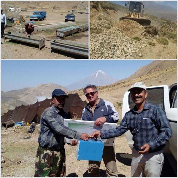 35 خانوار عشایر سوادکوه با پنل خورشیدی برق دار شدند