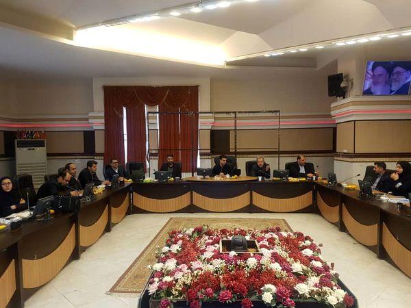پنجمین جلسه کار گروه استانی پروژه حسابداری و بهره وری آب  در قزوین برگزارشد