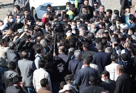حضور رییس جمهوری در جمع عشایر دشت مغان اردبیل