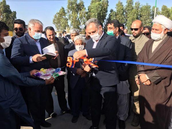 افتتاح دوطرح تولیدی بخش کشاورزی در سیستان وبلوچستان