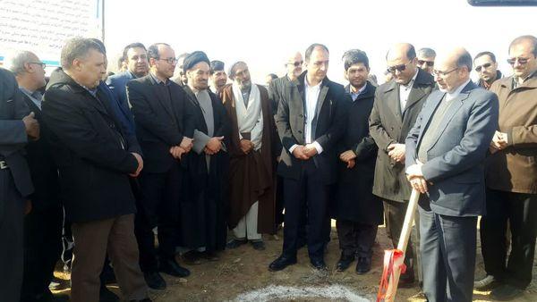 عملیات اجرایی سه طرح در شهرستان شیروان آغاز شد