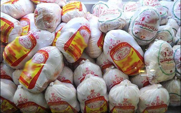 7142 تن گوشت مرغ در روز 19 فروردین ماه عرضه شد
