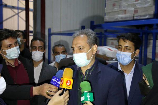بازدید سرزده وزیر جهاد کشاورزی از میادین عرضه مرغ در تهران