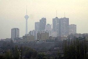 کاهش کیفیت هوا در تهران و شهرهای صنعتی
