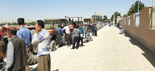 دستگاه ماشین آلات کشاورزی در سطح اصفهان