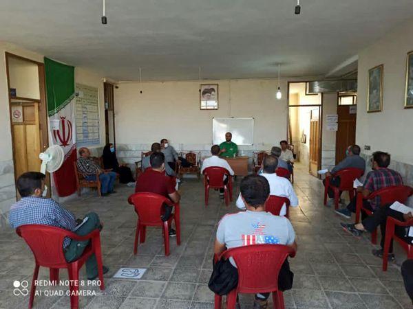 برگراری اولین جلسه دوره  آموزشی طرح پایلوت کشوری کاکتوس در شهرستان فارسان