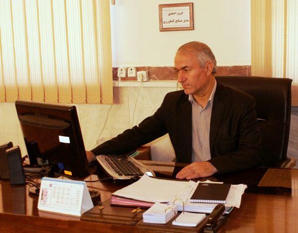 ۵۶ هزار هکتار از اراضی کشاورزی کردستان مجهز به سامانههای نوین آبیاری هستند
