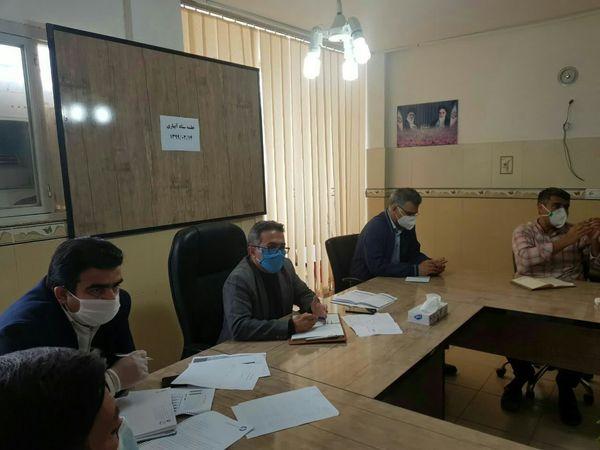 برگزاری جلسه ستاد آبیاری نوین در شهرستان گرمه