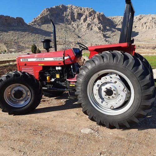 پلاک گذاری ماشین های خودگردان کشاورزی در سپیدان