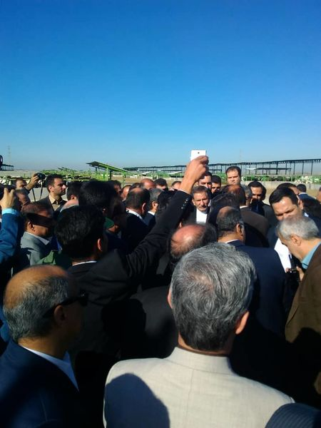 افتتاح بزرگترین طرح پرواربندی جنوب کشور با حضور معاون اول رئیسجمهور