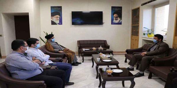 دیدار عضو هیأت رئیسه مجلس شورای اسلامی با رئیس سازمان جهاد کشاورزی