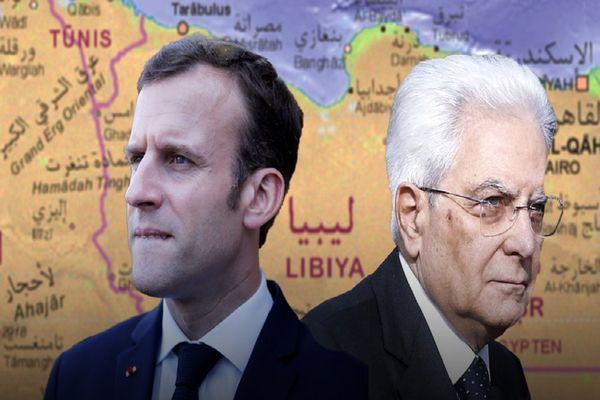 رقابت ایتالیا و فرانسه بر سر غنایم لیبی