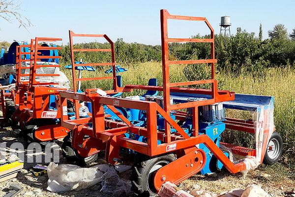 کمباینهای مدرن تولیدات کشاورزی را تقویت میکند