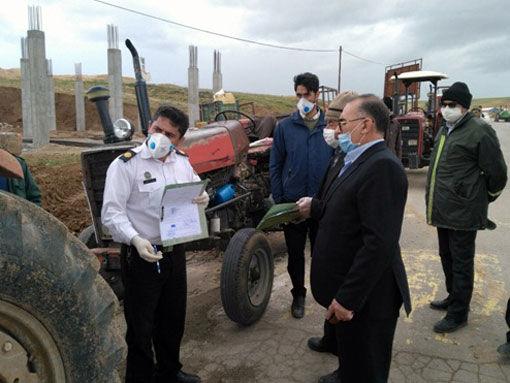 رتبه سوم شهرستان چاراویماق در پلاک گذاری ماشین آلات کشاورزی