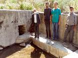شروع عملیات لایروبی و مرمت قنات روستای قره قوچ علیا در بخش منجوان شهرستان خداآفرین