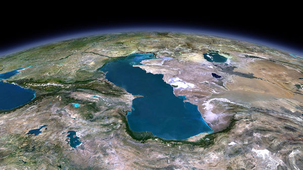 آب خزر در 10 سال 1 متر پایین رفت
