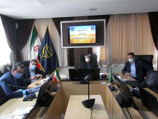 برگزاری جلسه رفع تداخل پلاک کلاته مستوفی شهرستان بجنورد