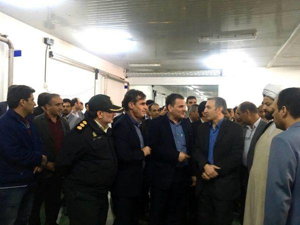 کشتارگاه 25 هزار تنی سپیدمرغ شیرکوه یزد افتتاح شد