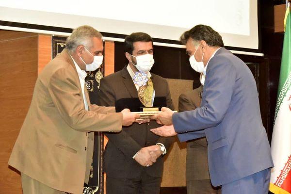 رتبه برتر سازمان در جشنواره شهید رجایی