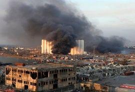گندم 3 ماه لبنان دود شد! / استفاده از کود کشاورزی به عنوان ماده منفجره