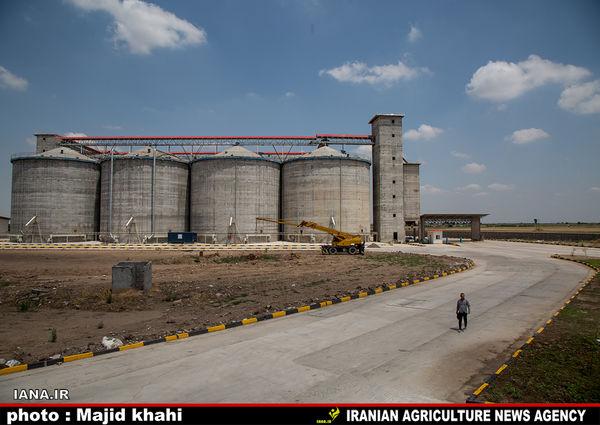 سیلوی گندم در علیآباد گرگان