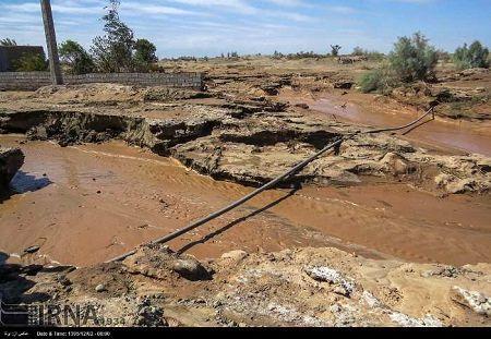 خسارت 50 میلیارد ریالی سیل و طوفان به شهرستان کرمان