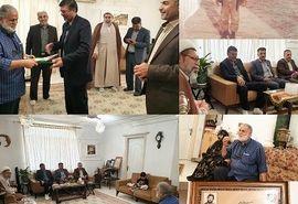دیدار رییس سازمان جهادکشاورزی استان گلستان با خانواده معظم شهید طغرایی