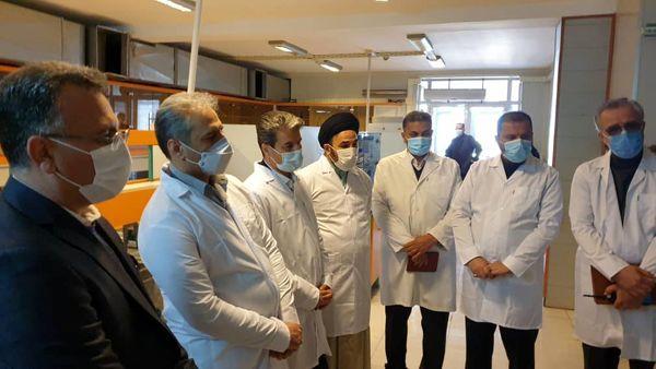 بازدید از موسسه دانش بنیان کشت بافت در شهرستان ارومیه