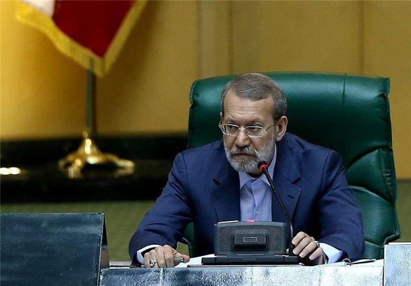 لاریجانی رئیس مجلس شد