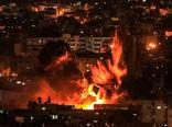 بمباران نوار غزه توسط جنگندههای رژیم صهیونیستی