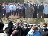 حضور رییس سازمان جهاد کشاورزی استان قزوین در بازدید مسئولان استانی از مناطق سیل زده الموت شرقی