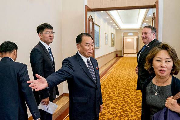 تصاویر دیدار پامپئو با مقام های کره شمالی