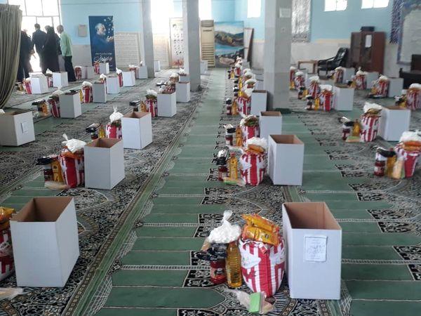 کمک مومنانه کارکنان جهاد کشاورزی جنوب کرمان در ماه مبارک رمضان