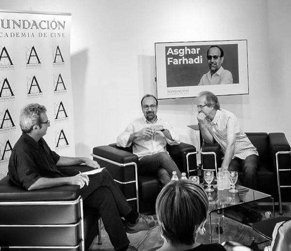 آغوش سینمای اسپانیا همیشه برای فرهادی باز است