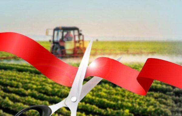 افتتاح پروژهای بخش کشاورزی در شهرستان فارسان