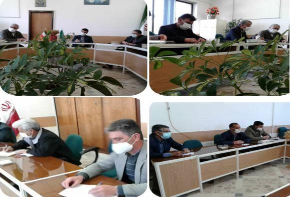 جلسه ستاد گیاهپزشکی شهرستان اسفراین برگزار شد
