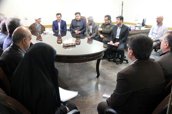 دیدار بسیجیان سازمان جهاد کشاورزی تهران با مسئول حوزه نمایندگی ولی فقیه