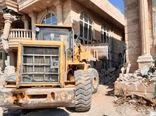 تخریب 70 مورد تغییر کاربری غیر مجاز در شهرستان چهارباغ