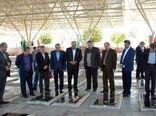 مزار شهدای جهادگر تبریز گلباران شد