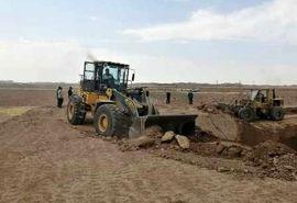 230 هکتار از اراضی منابع طبیعی جنوب پایتخت رفع تصرف شد