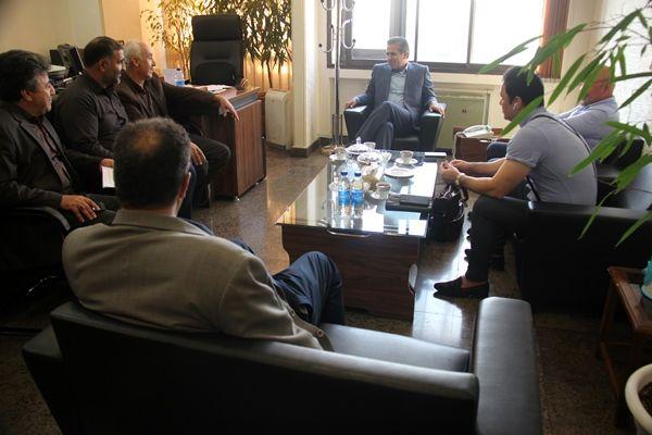 ملاقات رییس سازمان جهاد کشاورزی استان تهران با بهره برداران درجهت تکریم ارباب رجوع