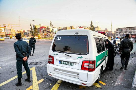 افزایش گشتهای پلیس در حاشیه تهران