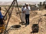 یک قنات خشک در لارستان پس از سال ها دوباره جاری شد